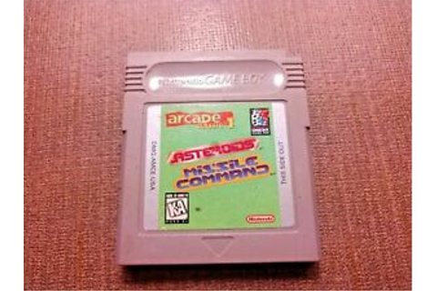 Nintendo Game Boy Cart Only Tested Arcade Classic ...