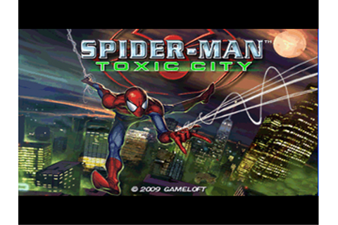 Spider Man Toxic City - breathogs