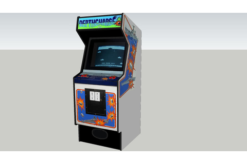Depthcharge arcade game | 3D Warehouse