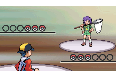 2nd Gym Battle vs Bugsy [Pokemon HeartGold] - YouTube