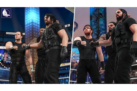 A Visual History of THE SHIELD In WWE Games! (2013 - 2018 ...