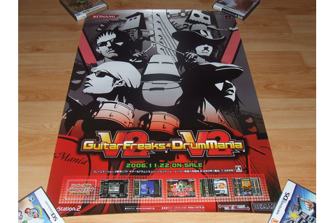 Guitarfreaks Drummania V2 | Video Game Posters | Flickr