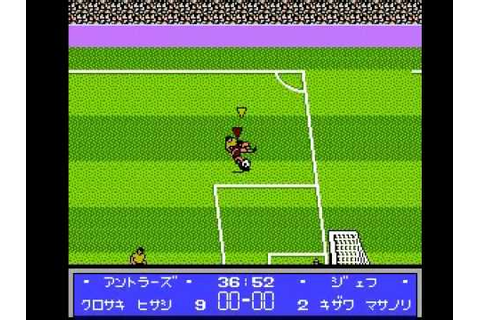J League Winning Goal Famicom - YouTube