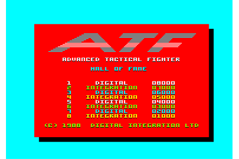 Download ATF: Advanced Tactical Fighter - My Abandonware