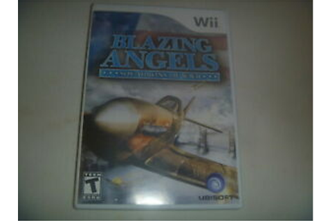 Blazing Angels Squadrons Of WWII (2007) Nintendo Wii ...