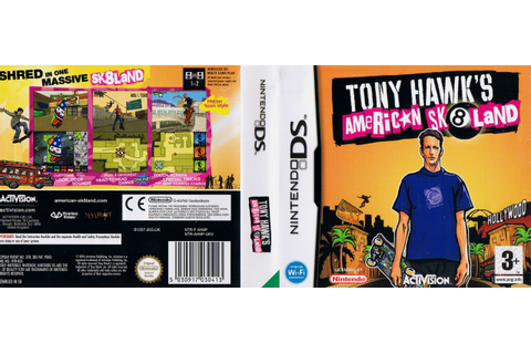 Video game cover archive — Tony Hawk's American Sk8land ...