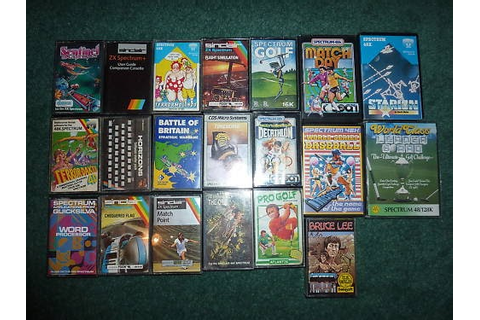 Retro Treasures: 20 ZX Spectrum Games