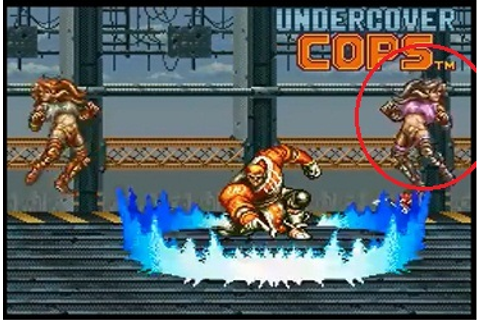 Undercover Cops (Comparison: SNES Version - Arcade Version ...
