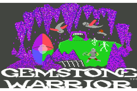 Gemstone Warrior (1984) by Paradigm Creators C64 game