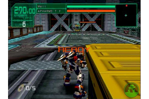Cyber Troopers Virtual On Marz PS2 ISO Download