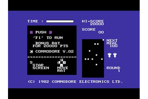 Radar Rat Race Review for the Commodore 64 by John Gage ...