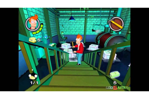 Futurama - Gameplay PS2 HD 720P - YouTube