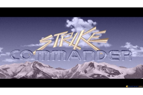 Strike Commander gameplay (PC Game, 1993) - YouTube