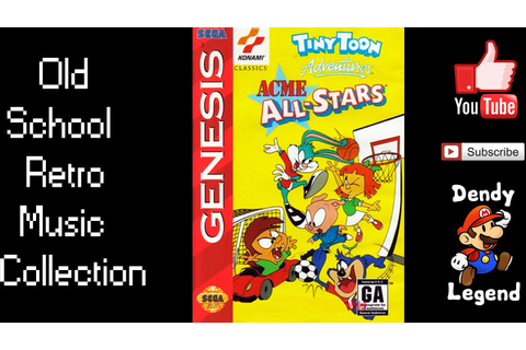 Tiny Toon Adventures - Acme All Stars - Extra Games - YouTube