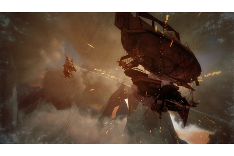 Guns of Icarus Online (2013) promotional art - MobyGames