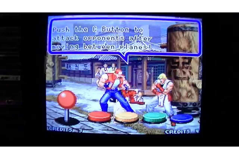 Real Bout Fatal Fury Special Neo Geo MVS-Entire Game ...