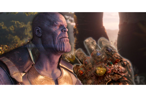 Infinity Gauntlet Fused To Thanos' Hand At The End Of ...