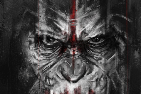 Planet of the Apes Caesar's Vengeance Print - Missed Prints