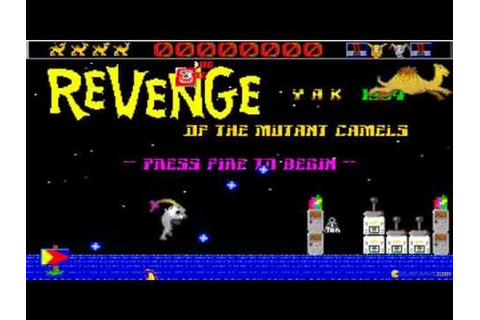Revenge of the Mutant Camels gameplay (PC Game, 1984 ...