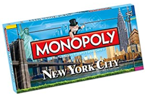 Amazon.com: Monopoly New York City: Game: Toys & Games