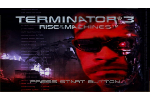 Terminator 3 Rise of the Machines game review - YouTube