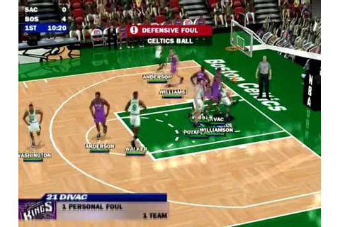 NBA Live 2000 PC gameplay - YouTube