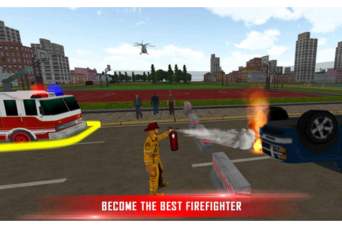 Fire Brigade Rescue Simulator - Android Apps on Google Play