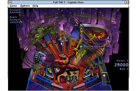 Full Tilt! 2 Pinball Download (1996 Arcade action Game)