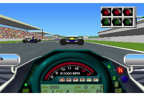 Download Formula 1 Grand Prix racing for DOS (1991 ...
