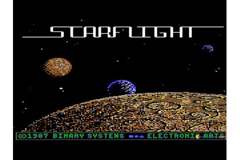 Starflight gameplay (PC Game, 1986) - YouTube