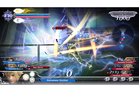 Dissidia Final Fantasy Arcade Revealed For 2018 PS4 ...