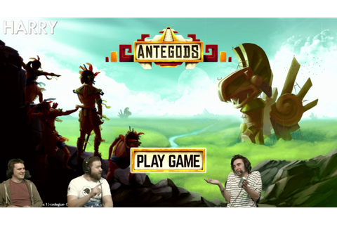 Livestream of Antegods - New game from Codeglue - YouTube