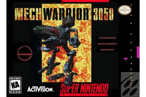 MechWarrior 3050 SNES Super Nintendo