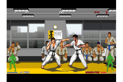 Indie Retro News: Karate Master : Knock Down Blow - Beat em up