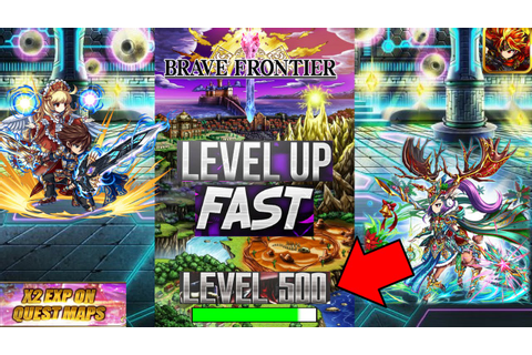 Brave Frontier - How to Get to Level 999 Fast! (Guaranteed ...
