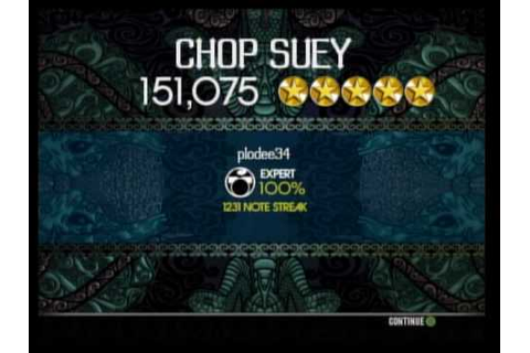 Chop Suey Expert Drums FC - Rock Band 2 - YouTube