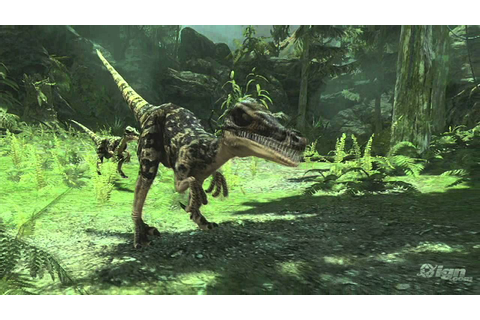 Jurassic: The Hunted Xbox 360 Trailer - Debut Trailer ...