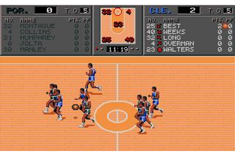 TV Sports: Basketball Download (1990 Sports Game)