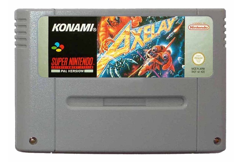 Buy Axelay SNES Australia