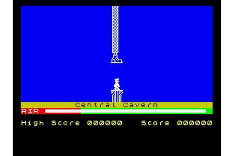 Manic Miner Game Over ZX Spectrum - YouTube