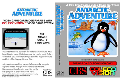 Antarctic Adventure | Top 80's Games