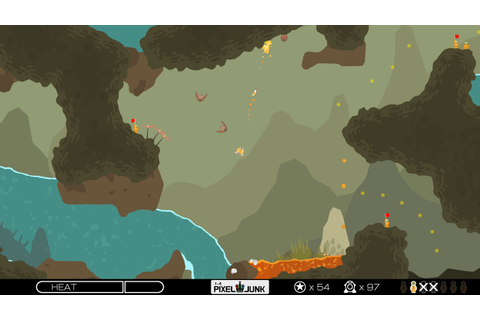 PixelJunk Shooter Review | Select/Start Games
