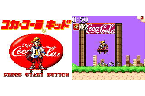 Coca Cola Kid (New) from Sega - Game Gear