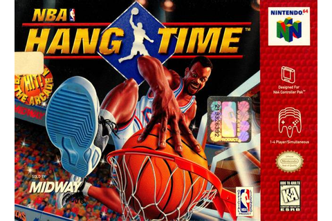 NBA Hang Time Nintendo 64 Game