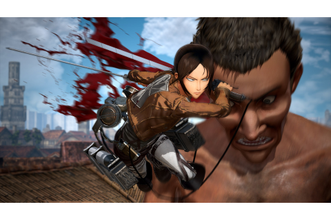 Attack on Titan 2 (Switch): latest details and screenshots ...