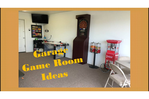 Garage Game Room Ideas - YouTube