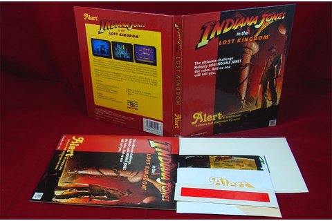 C64: Indiana Jones in the Lost Kingdom - Lucasarts 1984 | eBay