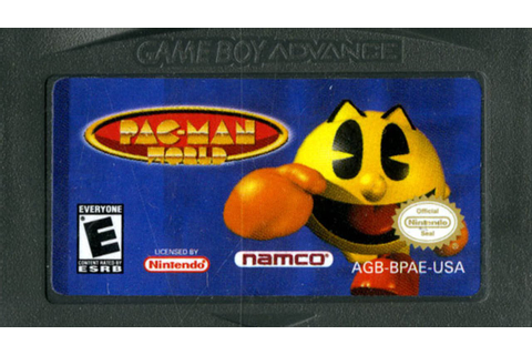 CGR Undertow - PAC-MAN WORLD review for Game Boy Advance ...