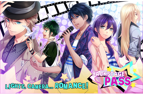 Backstage Pass - An Otome Game by sakevisual