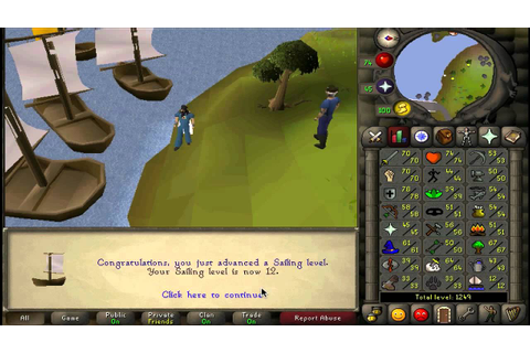 Old School Runescape 2007 1-99 Sailing Guide FASTEST XP ...